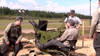 フィンランド製20mm対空機関砲『20 ITK 40 VKT』