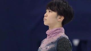 【英語】友野一希 SP 四大陸選手権2020