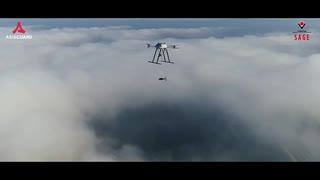 【トルコ】爆弾を投下するマルチコプター