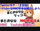 まとめなな MMD杯解説& MMD Youtube動画紹介 Twitterタグ:「#VtuberはMMD杯参加検討しよう」【2日目】