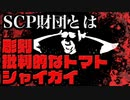 SCP紹介、SCPとは?SCP173、SCP504、SCP096を紹介