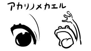 辻野あかりの目カエルに見える説2