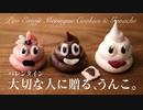 大切な人に贈る、うんこ。生チョコとメレンゲクッキー【お菓子作り】ASMR