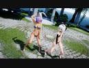 【MMD】『KiLLER LADY』鈴仙ちゃん&妖夢ちゃんが踊りました。