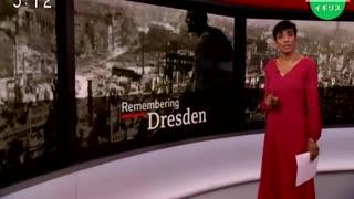 第二次世界大戦中のドレスデン爆撃から75年...式典が行われる