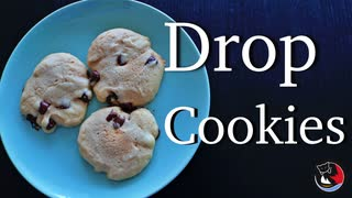How to make Drop Cookies by Microwaves