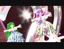 【重音テト 櫻花アリス 結月ゆかり】フリィダムロリィタ【MMD】
