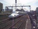 東海道新幹線のぞみ号静岡駅通過