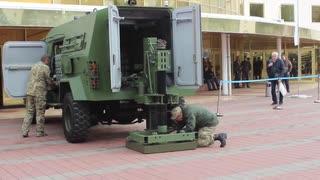 新機軸の自走迫撃砲『機動迫撃砲システム』(mobile mortar system)