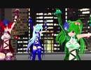 【重音テト 櫻花アリス 初音ミク】Dr_バロウズインザラボラトリー【MMD】