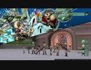 DQ10 アストルティア防衛軍 オートマッチングにて翠煙の海妖兵団ボス初討伐の様子。