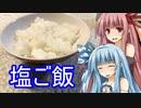 【1分弱料理祭】琴葉姉妹のさっと一品 ~塩ご飯編~
