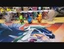 【ガチャガチャ】ぶらさがりあまえんぼうパンダ4開封!!!ブルーパンダの色合いがいい!!!これで100円はやばい!!