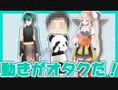 【字幕有】動きがオタクすぎて5秒でバレる謎のパンダ師匠【緑仙・エルフのえる・社築】