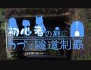 【東北姉妹車載】初心者の癖にカブで隧道制覇 15本目