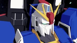 【MMDガンダム】Zガンダム変形シーン(モー