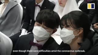 韓国軍の感染者13人に増え在韓米軍でも1人陽性...統一教会は3万人の合同結婚式