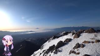 少し厳冬期の赤岳攻略RTA 17:14
