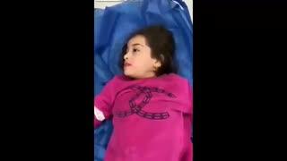 中東の新型ウイルス拡散はイランから...小さな子供も感染し呼吸が苦しそう