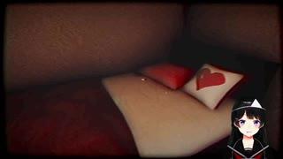 月ノ美兎「ベッド!セミダブルじゃないですか…えっち~」→九ヶ月前の楓と美兎「同じ部屋なんですよ、セミダブル」