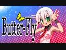 (V)・∀・(V)<ゴキゲンな蝶になってみぱん。