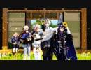 【MMD刀剣乱舞】山猫ボーダーランズ!+WAVE【山猫組】