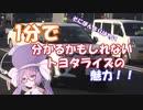 【1分弱車載前夜祭】一分でわかるかもしれないトヨタライズ!...