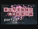 【【Bloodborne】東北・琴葉姉妹の地底拡張計画 part28【VOICEROID実況】