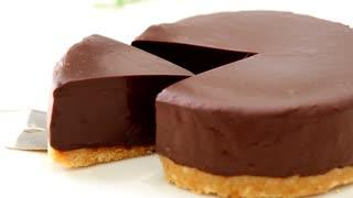 材料3つでYouTube史上最も簡単な生チョコケーキリベンジ How to make ganache cake【ホワイトデー】