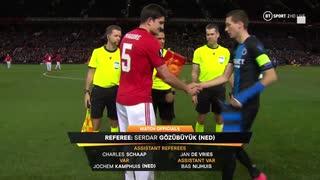 《19-20ヨーロッパリーグ》 [ベスト32・2ndレグ] マンチェスター・ユナイテッド vs ブルージュ