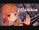【MMD艦これ】夕立改二と時雨改二で『 [A]ddiction 』