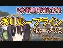 【1分弱車載前夜祭】京町セイカとやまみちドライヴ【浅川ループライン編】