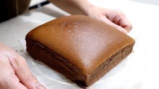 ふわふわ台湾カステラでティータイム How to make a fluffy sponge cake 【ホワイトデー】