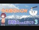 【うどんR×ロードバイク】令和最初のGW 御嶽山を見に行こう3