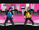 【MMD黒バス】ブリキノダンス【青峰&黄瀬】※修正再うp
