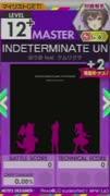 【譜面確認用】 INDETERMINATE UNIVERSE M