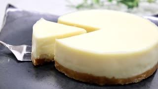材料3つで生チョコホワイトケーキ How to make a white ganache cake with three ingredients