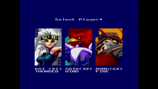 Wing Warriors [SEGA Master System版PAL MD実機]