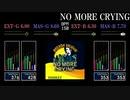 【GITADORA】NO MORE CRYING【NEX+AGE】