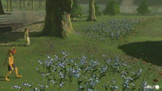 依頼を受けて、花の中州の花を散らした瞬