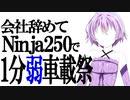 【日本一周番外編】会社辞めてninja250で幕間 【1分車載動画祭】