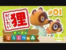 【姉妹実況】たぬきと暮らすゲーム【あつ森#01】