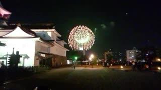 富山駅路面電車南北接続開業イベント Celebration Night -スカイランタンと花火の夜祭り-@富山城址公園20200321