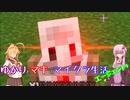【Voiceloid】ゆかりとマキのマイクラ生活(エ-ジェントプラス) 2日目【Minecraft】