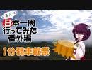 【一分弱車載祭】ド素人が日本一周行ってみた 番外編