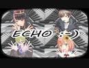 にじさんじARK第二次大戦 三勢力で『ECHO』【にじさんじMMD】