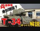 【兵器紹介】未だに一部現役、T-34【ゆっくり解説】