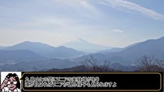 【1分弱登山祭】高川山 山頂攻略【リアル
