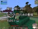 【Minecraft 】蜂の、蜂による、メイドさんのための養蜂51【1.12.2】