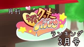月刊クッキー☆ランキング2020年3月号